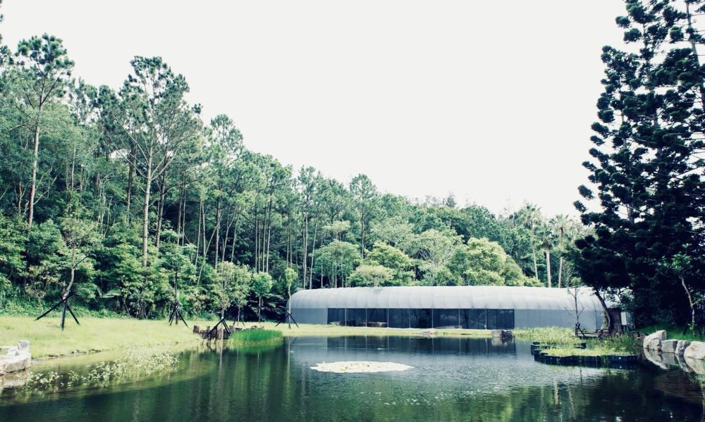 森大主屋湖景