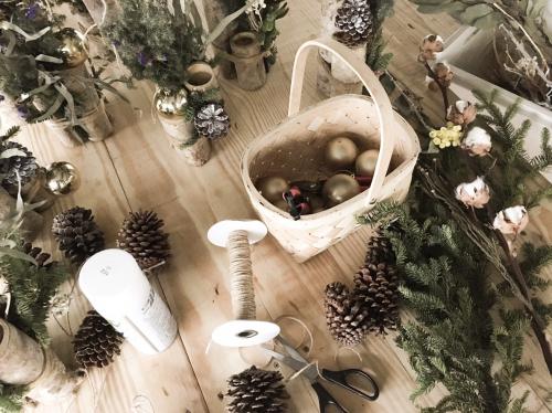 手工製作聖誕花圈
