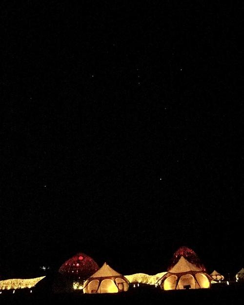 一起來山那村看星星